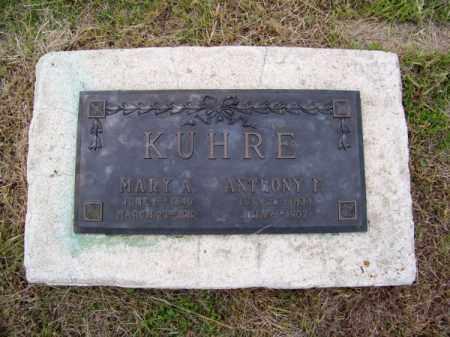 KUHRE, MARY A. - Brown County, Nebraska | MARY A. KUHRE - Nebraska Gravestone Photos