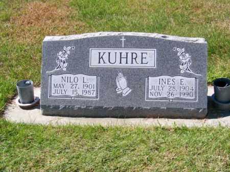 KUHRE, NILO L. - Brown County, Nebraska | NILO L. KUHRE - Nebraska Gravestone Photos