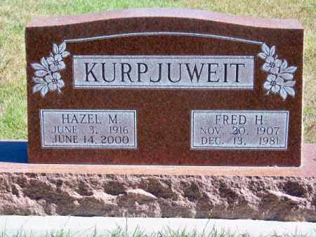 KURPJUWEIT, FRED H. - Brown County, Nebraska | FRED H. KURPJUWEIT - Nebraska Gravestone Photos