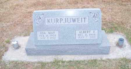 KURPJUWEIT, ALBERT E. - Brown County, Nebraska | ALBERT E. KURPJUWEIT - Nebraska Gravestone Photos