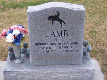 LAMB, BILLY JOE - Brown County, Nebraska | BILLY JOE LAMB - Nebraska Gravestone Photos