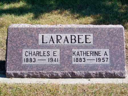 LARABEE, KATHERINE A. - Brown County, Nebraska   KATHERINE A. LARABEE - Nebraska Gravestone Photos