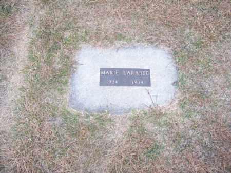 LARABEE, MARIE - Brown County, Nebraska   MARIE LARABEE - Nebraska Gravestone Photos