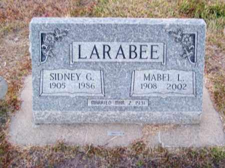 LARABEE, MABEL L. - Brown County, Nebraska | MABEL L. LARABEE - Nebraska Gravestone Photos