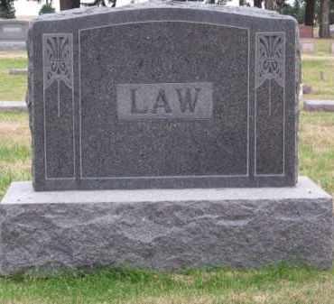 LAW, FAMILY - Brown County, Nebraska   FAMILY LAW - Nebraska Gravestone Photos