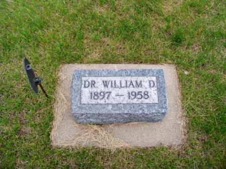 LEAR, DR. WILLIAM D. - Brown County, Nebraska | DR. WILLIAM D. LEAR - Nebraska Gravestone Photos