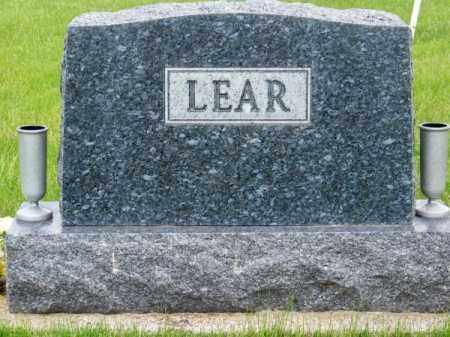 LEAR, FAMILY - Brown County, Nebraska | FAMILY LEAR - Nebraska Gravestone Photos