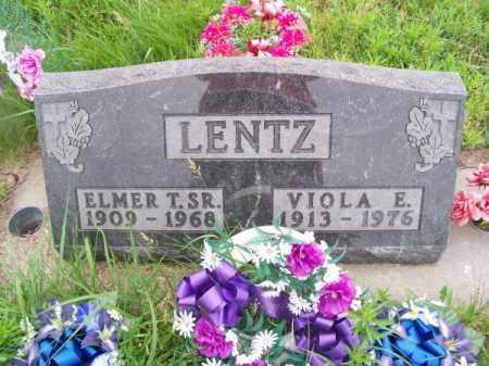 LENTZ, VIOLA E. - Brown County, Nebraska | VIOLA E. LENTZ - Nebraska Gravestone Photos