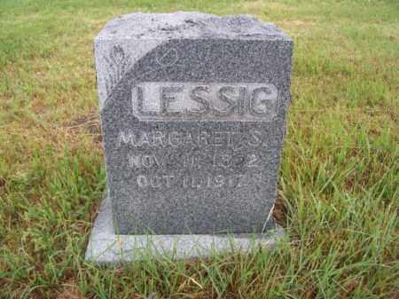 LESSIG, MARGARET S. - Brown County, Nebraska | MARGARET S. LESSIG - Nebraska Gravestone Photos