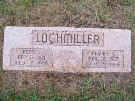 LOCHMILLER, ANNA I. - Brown County, Nebraska   ANNA I. LOCHMILLER - Nebraska Gravestone Photos