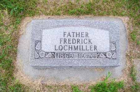 LOCHMILLER, FREDRICK - Brown County, Nebraska   FREDRICK LOCHMILLER - Nebraska Gravestone Photos