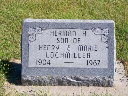 LOCHMILLER, HERMAN H. - Brown County, Nebraska   HERMAN H. LOCHMILLER - Nebraska Gravestone Photos