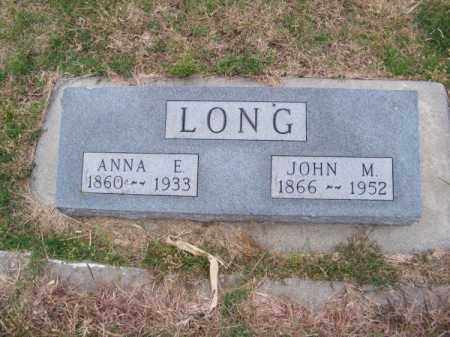 LONG, JOHN M. - Brown County, Nebraska | JOHN M. LONG - Nebraska Gravestone Photos
