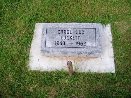 KIDD LUCKETT, CAROL - Brown County, Nebraska | CAROL KIDD LUCKETT - Nebraska Gravestone Photos