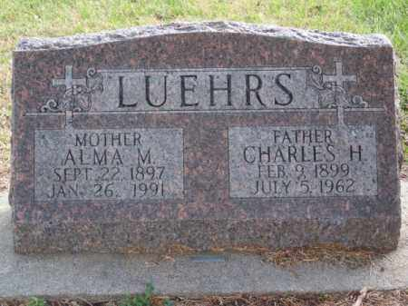 LUEHRS, CHARLES H. - Brown County, Nebraska   CHARLES H. LUEHRS - Nebraska Gravestone Photos