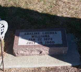 LUEHRS, ADALINE - Brown County, Nebraska | ADALINE LUEHRS - Nebraska Gravestone Photos