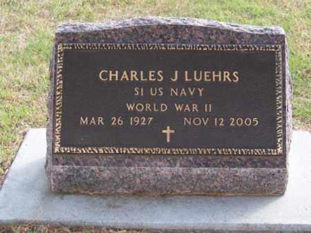 LUEHRS, CHARLES J. - Brown County, Nebraska | CHARLES J. LUEHRS - Nebraska Gravestone Photos