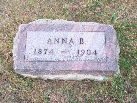 LUTHER, ANNA B. - Brown County, Nebraska | ANNA B. LUTHER - Nebraska Gravestone Photos