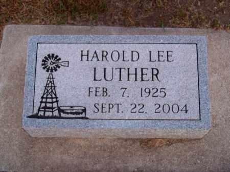 LUTHER, HAROLD LEE - Brown County, Nebraska | HAROLD LEE LUTHER - Nebraska Gravestone Photos