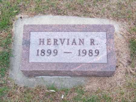 LUTHER, HERVIAN R. - Brown County, Nebraska   HERVIAN R. LUTHER - Nebraska Gravestone Photos