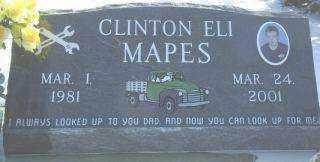 MAPES, CLINTON - Brown County, Nebraska | CLINTON MAPES - Nebraska Gravestone Photos
