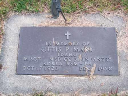 MARK, OTTIS P. - Brown County, Nebraska | OTTIS P. MARK - Nebraska Gravestone Photos