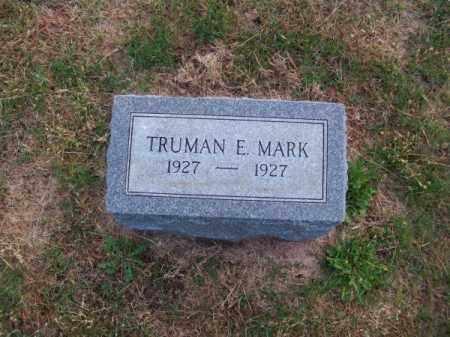 MARK, TRUMAN E. - Brown County, Nebraska | TRUMAN E. MARK - Nebraska Gravestone Photos