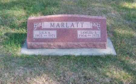 MARLATT, LILA A. - Brown County, Nebraska | LILA A. MARLATT - Nebraska Gravestone Photos