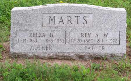 MARTS, ZELZA G. - Brown County, Nebraska | ZELZA G. MARTS - Nebraska Gravestone Photos
