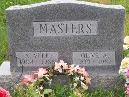 MASTERS, OLIVE A. - Brown County, Nebraska | OLIVE A. MASTERS - Nebraska Gravestone Photos