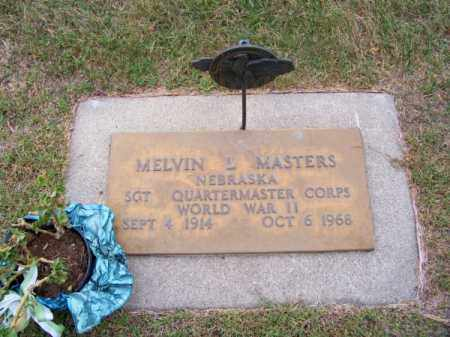 MASTERS, MELVIN L. - Brown County, Nebraska | MELVIN L. MASTERS - Nebraska Gravestone Photos