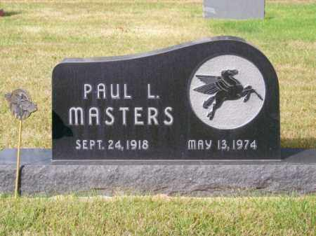 MASTERS, PAUL L. - Brown County, Nebraska | PAUL L. MASTERS - Nebraska Gravestone Photos