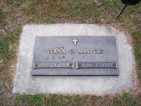 MASTERS, VERNA O. - Brown County, Nebraska | VERNA O. MASTERS - Nebraska Gravestone Photos