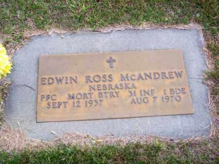 MC ANDREW, EDWIN ROSS - Brown County, Nebraska   EDWIN ROSS MC ANDREW - Nebraska Gravestone Photos