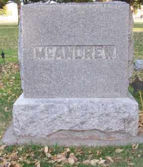 MC ANDREW, FAMILY - Brown County, Nebraska | FAMILY MC ANDREW - Nebraska Gravestone Photos