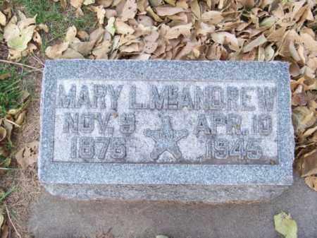 MC ANDREW, MARY L. - Brown County, Nebraska | MARY L. MC ANDREW - Nebraska Gravestone Photos