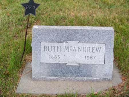 MC ANDREW, RUTH - Brown County, Nebraska   RUTH MC ANDREW - Nebraska Gravestone Photos