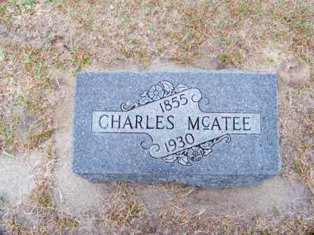 MC ATEE, CHARLES - Brown County, Nebraska | CHARLES MC ATEE - Nebraska Gravestone Photos