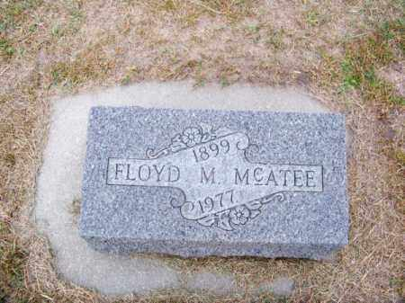 MC ATEE, FLOYD M. - Brown County, Nebraska | FLOYD M. MC ATEE - Nebraska Gravestone Photos