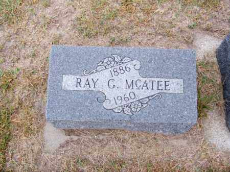 MC ATEE, RAY G. - Brown County, Nebraska | RAY G. MC ATEE - Nebraska Gravestone Photos
