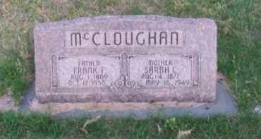 MC CLOUGHAN, SARAH L. - Brown County, Nebraska   SARAH L. MC CLOUGHAN - Nebraska Gravestone Photos