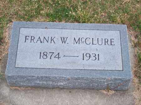 MC CLURE, FRANK W. - Brown County, Nebraska | FRANK W. MC CLURE - Nebraska Gravestone Photos