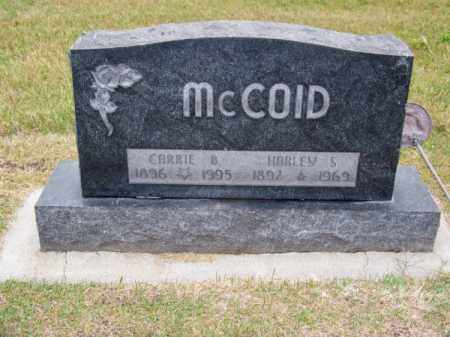 MC COID, HARLEY S. - Brown County, Nebraska | HARLEY S. MC COID - Nebraska Gravestone Photos