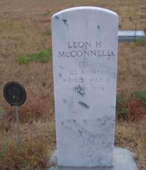 MC CONNELL, LEON H. - Brown County, Nebraska | LEON H. MC CONNELL - Nebraska Gravestone Photos
