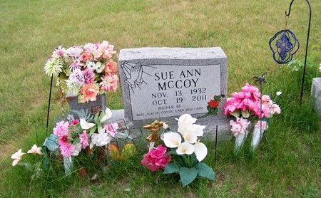 MC COY, SUE ANN - Brown County, Nebraska | SUE ANN MC COY - Nebraska Gravestone Photos