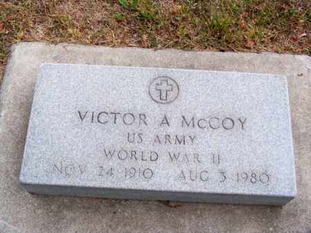 MC COY, VICTOR A. - Brown County, Nebraska | VICTOR A. MC COY - Nebraska Gravestone Photos