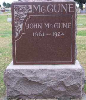 MC CUNE, JOHN - Brown County, Nebraska | JOHN MC CUNE - Nebraska Gravestone Photos