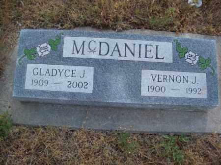 MC DANIEL, GLADYCE J. - Brown County, Nebraska | GLADYCE J. MC DANIEL - Nebraska Gravestone Photos
