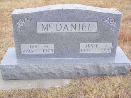 MC DANIEL, IVA M. - Brown County, Nebraska | IVA M. MC DANIEL - Nebraska Gravestone Photos