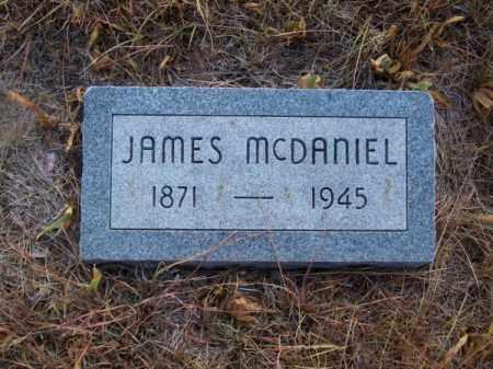 MC DANIEL, JAMES - Brown County, Nebraska | JAMES MC DANIEL - Nebraska Gravestone Photos